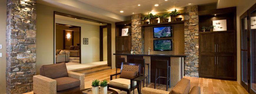 Обзор основных видов отделки гостиной