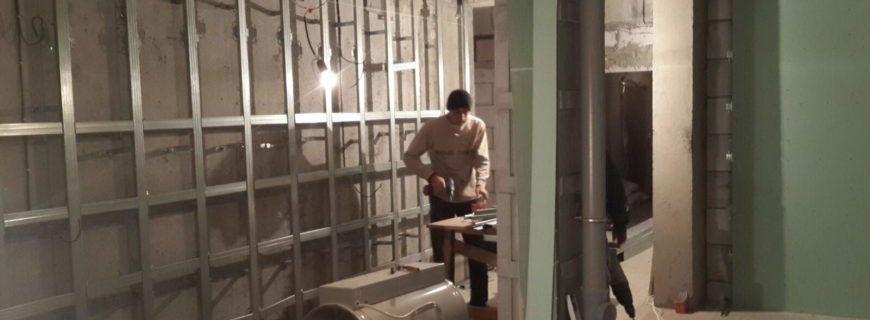 Стадии отделки гипсокартонных плит при ремонте и строительстве