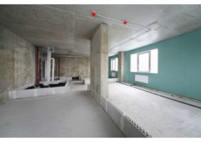 Ремонт новостройки под ключ однокомнатная квартира в Хамовниках