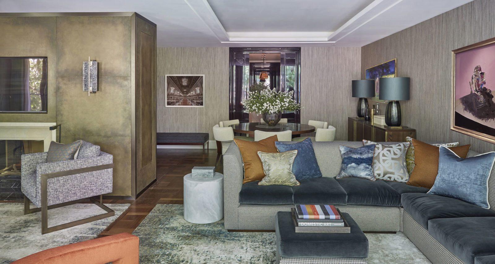 Дизайн проект дома в Шульгино Гостиная