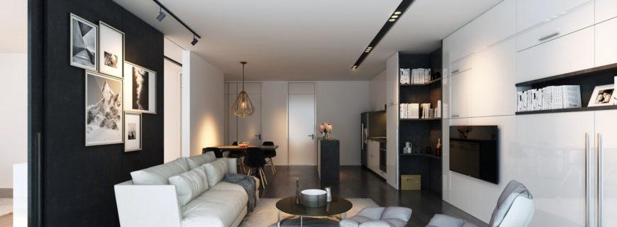 Дизайн проект и ремонт апартаментов в Москва Сити