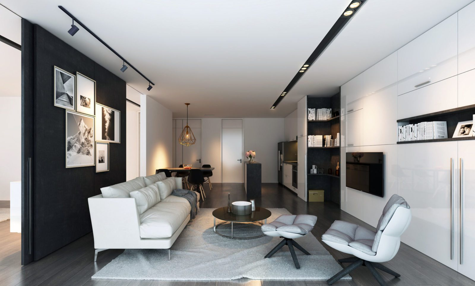 Дизайн апартаментов. Москва-Сити
