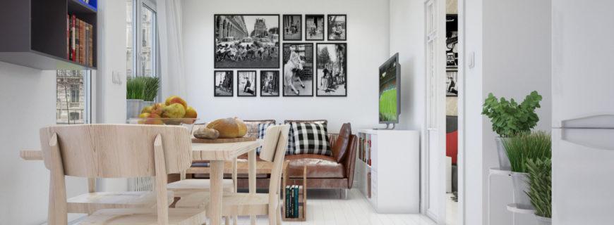Дизайн-проект интерьера квартиры на Арбате в Москве
