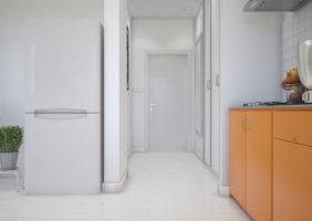Мини кухня и прихожая