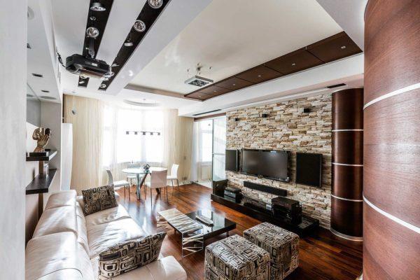 Использование декоративного камня в ремонте квартиры или дома