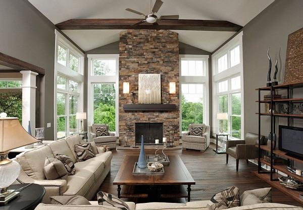 Камин для современного интерьера дома