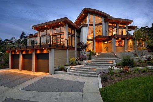 Что собой представляет стеклянный дом?