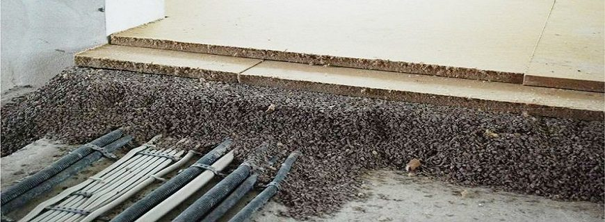 Ремонт дома: устройство сухой стяжки пола