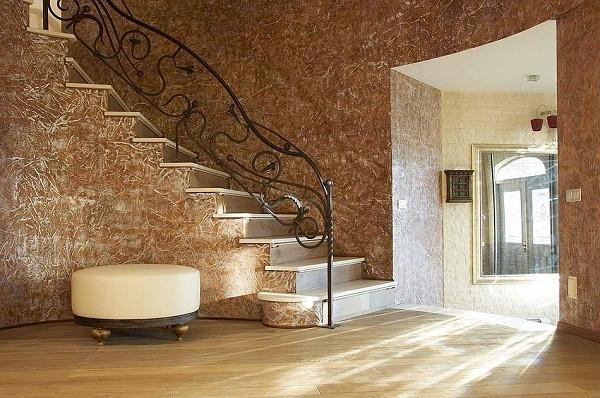 Ремонт частного дома: Венецианская штукатурка