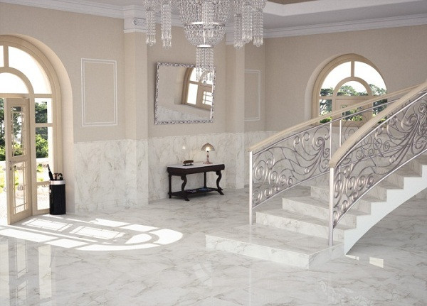 Ремонт частного дома: укладка керамогранита
